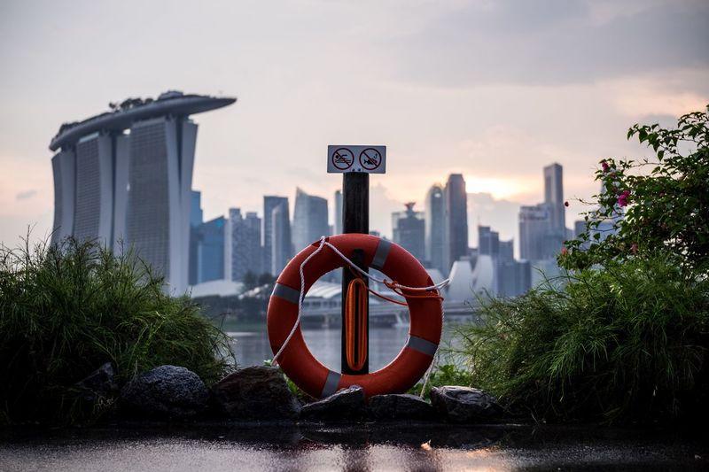 Singapour harbourfront
