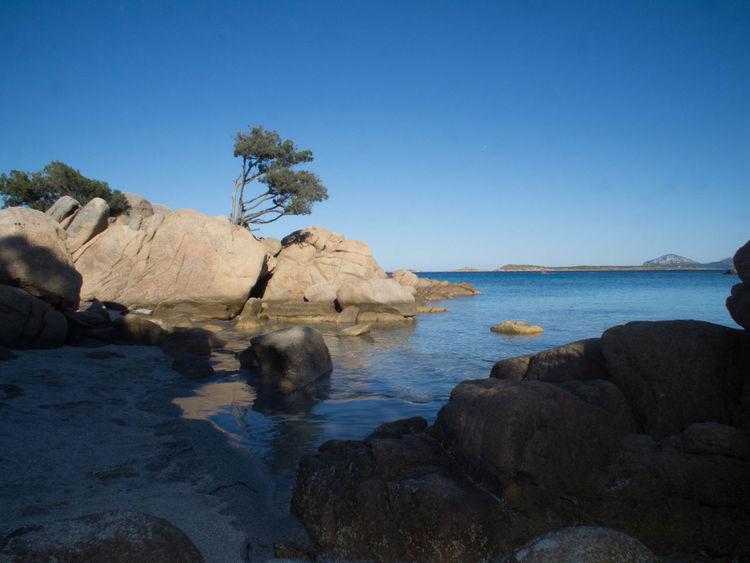 Blue Mare Rock Formation Sardegna Sardegnamare Sardinia Sea Water