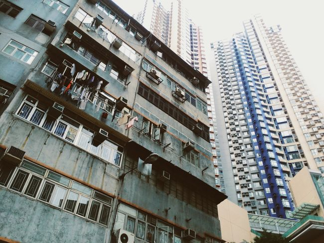 EyeEm Hong Kong EyeEm Best Shots Travel Traveling HongKong Street Photography Skyscrapers New And Old Building