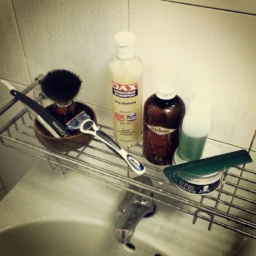 I guess you could say that I take my grooming seriously :) not ashamed. Edwinjagger Straightrazor Bluebeardsrevenge Jssloane dax suavecito wetshave