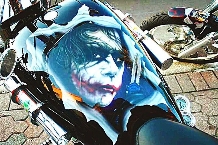 Art Is Everywhere Transportation Harley Davidson Bike Week 2017 Tank Art Joker Biker Life Art Is Everywhere