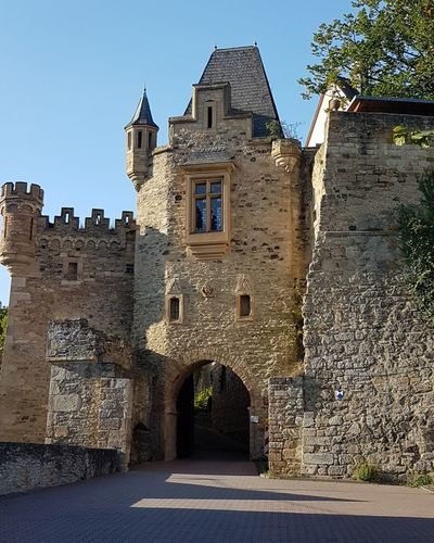 History Architecture No People Outdoors Day Sky Burg ritterburg Schloss Mittelalter