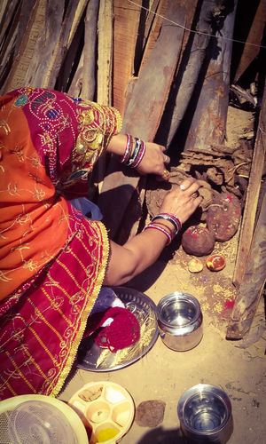 Rituals before Holika dahan, which is part of Holi festival( colour festival of India)- March month Holika Dahan Festival Lady Woman Rituals Culture Indian Culture  Indian Festival Faith&devotion Holi Holikadahan Holika Hindu Culture Good Over Evil 43 Golden Moments