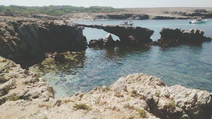Sicily, Italy Favignana's Sea Cala Rotonda Beach Water Water Scenics Rock - Object Tranquil Scene Tranquility Beauty In Nature Rock Formation Nature Non-urban Scene Sea Day Rocky Outdoors Rock Rugged Tourism