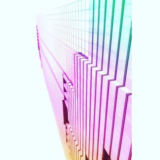 Purple Close-up Repetition In A Row Diminishing Perspective Pink Color Order Creativity Blackandwhite Gradient Architecture Candyminimal Modern Vanishing Point No People Circle Studio Shot White Background Multi Colored Geometric Shape