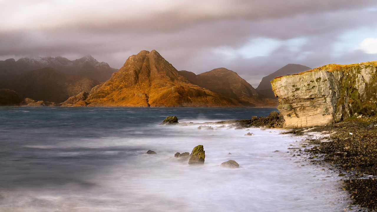 A Star Wars Planet 16x9 16x9photography Coast Elgol Eye Em Scotland EyeEm Best Shots - Long Exposure Followfriday Isle Of Skye Landscape Landscape_photography Landscape_Collection Landscape_photography Long Exposure Otherworldly Scotland Scotlandlover Shore Showcase: December Skye The Great Outdoors - 2015 EyeEm Awards The Traveler - 2015 EyeEm Awards Thisweekoneyeem Travel Photography Travelgram Travelphotography