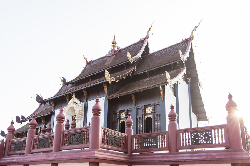 หอคำหลวง (Royal Pavilion) Architecture Building Exterior Built Structure Canon 6D Famous Place Religion Temple - Building Tourism Travel Travel Destinations