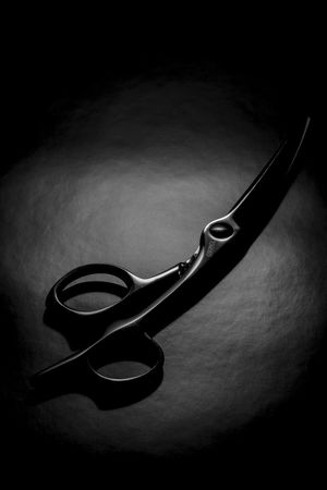 Scissor Haircut Haircut Time Hair Scissors Studio Shot Table Indoors  No People Close-up Day