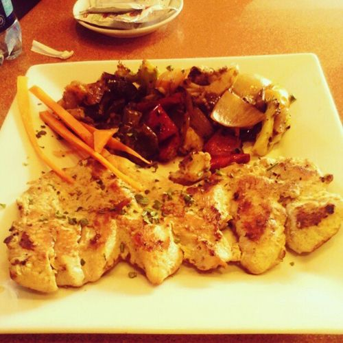 My meal today PechugaGrill VegetalesGrill Diet Squareone