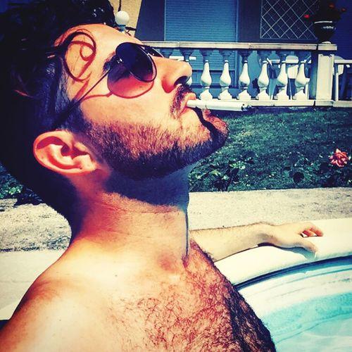 - La Tranquilidad - Gay Gayboy Gaybeard Swimming Gaymen Solitude Tranquilidad Smoke Bronzage