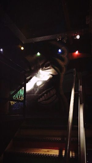 Illuminated Indoors  Bob Marley Dark Lights Colors Rum