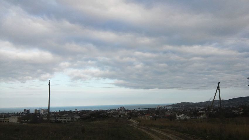 Feodosia Sea Nature Sky Clouds Blue Sky 🌃🌏☁ Open Love ♥