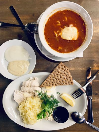 Food Photography Foodporn Food And Drink Food Swedish Food Swedish ShotOnIphone Cod Fish Fish Fish Soup Food And Drink Food Kitchen Utensil Eating Utensil Spoon Ready-to-eat Freshness Healthy Eating Bowl Meal High Angle View Plate Directly Above Indoors  Table Wellbeing Still Life No People Close-up Serving Size
