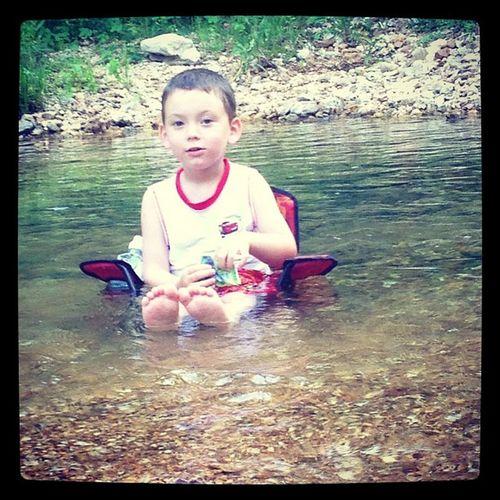 My Main Man✌ Riverrat Masonman Summer2013 Rivertime lovehimgreatdayrelaxingsunnysummmmmmmer