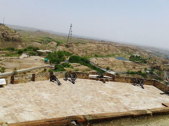 Ancient Civilization Outdoors Day Built Structure Architecture Bluecity Jodhpur Mehrangarh Cannon EyeEmNewHere Cloud - Sky