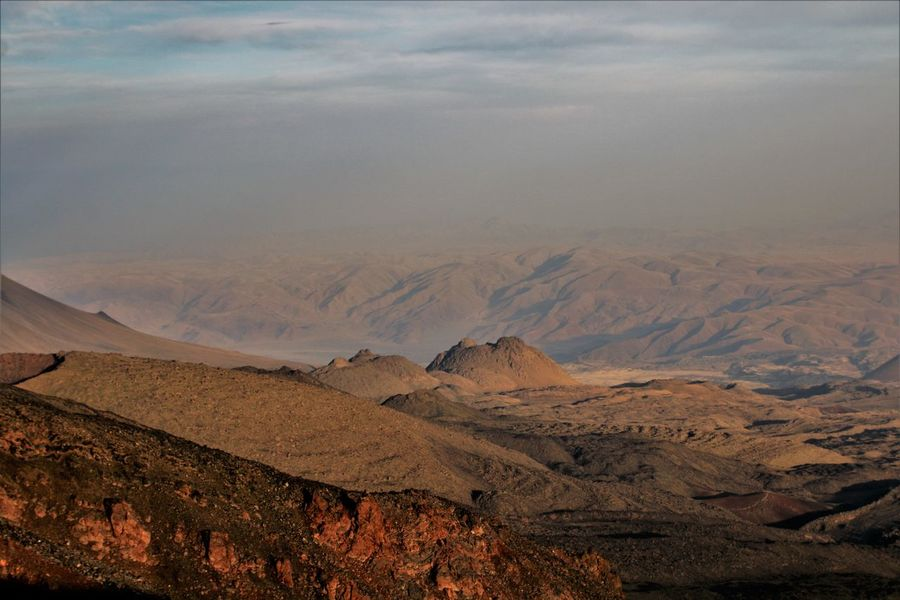 Mt.Ararat Turkey Dogubayazit Arid Climate Geology Landscape Mountain Nature Outdoors Sky Volcanic Landscape