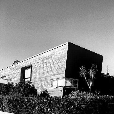 Architects dream Building Exterior Architecture Built Structure No People Outdoors Low Angle View Sky Day Tree Nature Minimalist Architecture House Design Rich Los Angeles, California Blackandwhite Illfordhp5 Architecture_collection