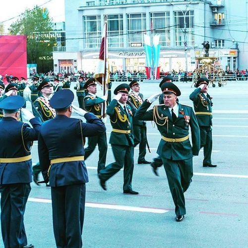 Новосибирск Нск 9мая ДеньПобеды праздник Novosibirsk Parade Soldier память ПарадПобеды Military Holiday 9may