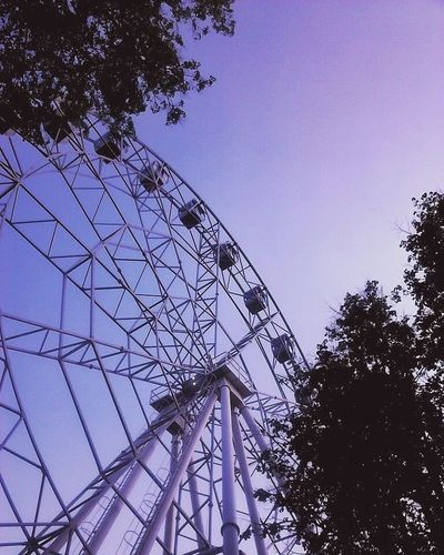 Sky Low Angle View Tree No People Outdoors Amusement Park Day First Eyeem Photo City Blue Perm City Пермь Perm Parkgorkogo Spring Park Close-up Beauty In Nature Summer Sunset