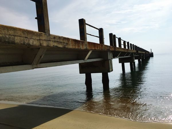 Sky Built Structure Architecture Cloud - Sky Water Day Bridge - Man Made Structure No People Sea Outdoors Nature