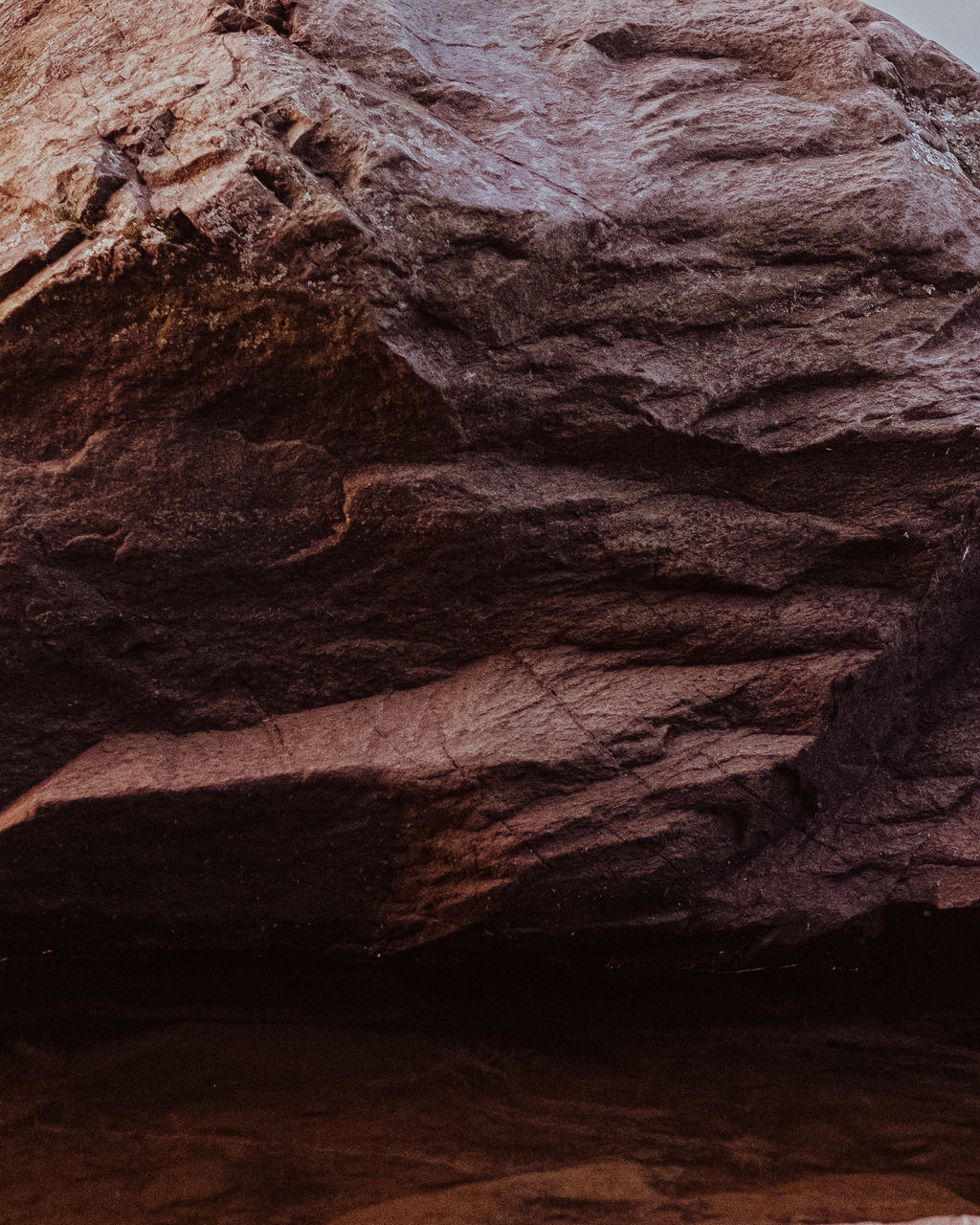 no people, indoors, rock, close-up, solid, textured, backgrounds, geology, rough, rock - object, full frame, pattern, brown, rock formation, nature, wood - material, still life, food and drink, single object, eroded, sandstone