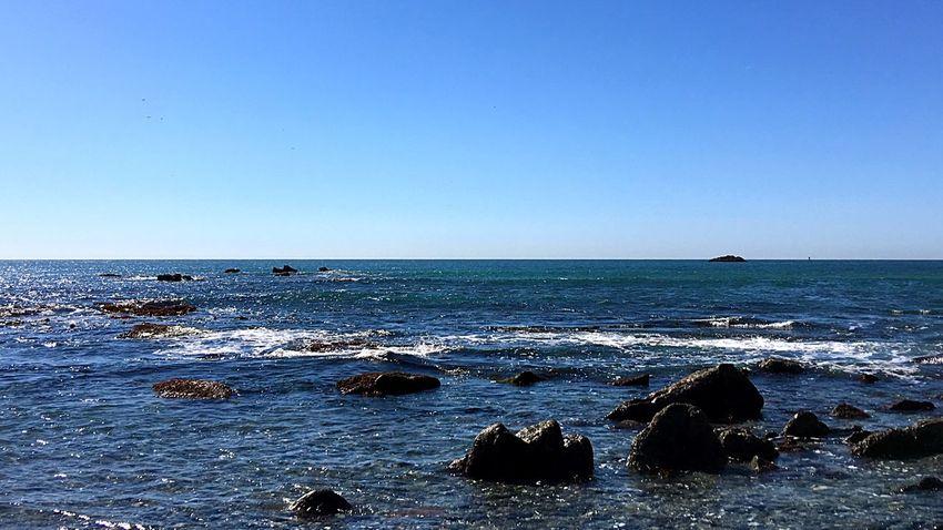 Rock Coast Rocky Coastline Dana Point Harbor