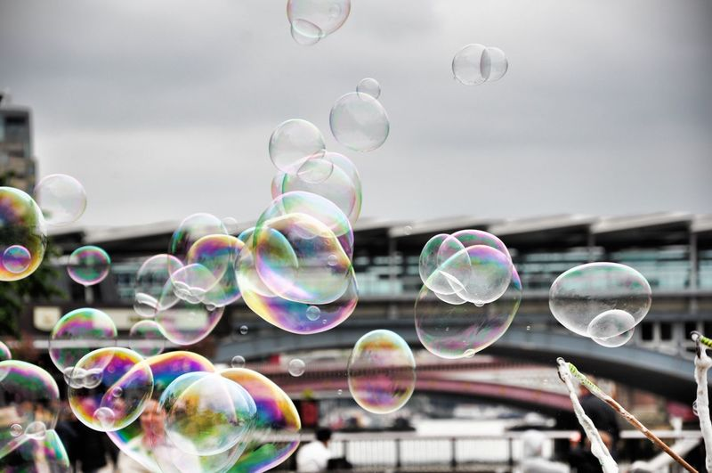 Fresh On Eyeem  Street Photography Silouette Popular Photos Popular EyeEm Best Shots Fine Art Fine Art Photography Soap Bubbles