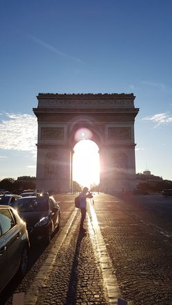 Arc De Triomphe, Paris On The Way Sunset Paris France Eye4photography  Simply Beautiful My Gallery Nice View Feel The Journey 43 Golden Moments Urbanphotography The Turist Summer Sunshine Blue Sky Lovley Day Moments Of My Life Perfect Match Showcase July