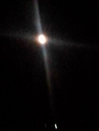 Night Moon Natural Phenomena Cross