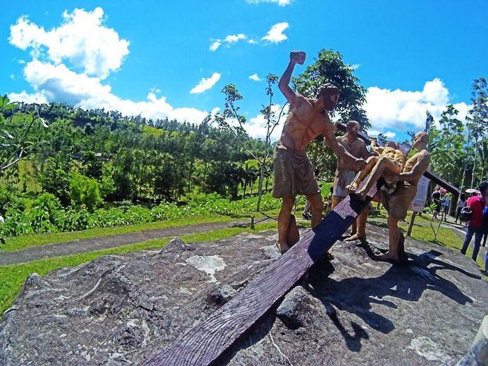 EyeEmNewHere Kawa Kawa Hill, Ligao City Way Of The Cross