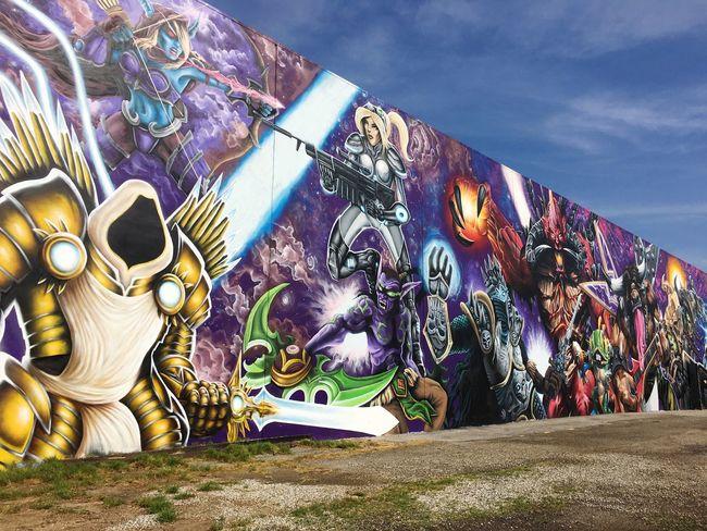 major Graffiti Graffitiporn Giant Wall Losangeles Downtown DowntownLA DTLA Dtla Art District IPhoneography