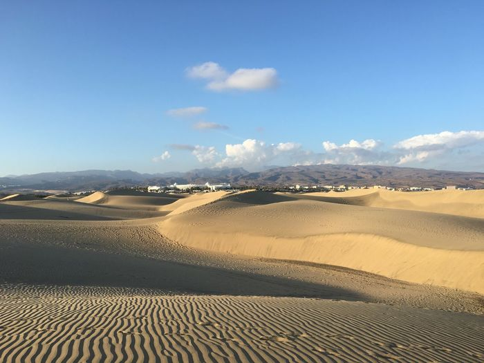 Sand Sand Dune Desert Nature Sky Outdoors Beauty In Nature Beach No People Scenics Day