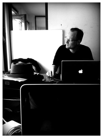 Working at DDB Tribal Working