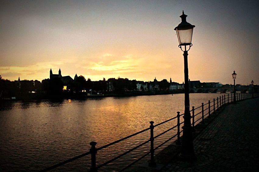 ❤ my City Maastricht Cityscapes Sunset