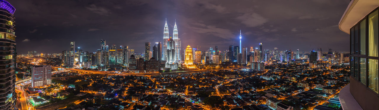 Kuala Lumpur Architecture Architecture ASIA Built Structure Cities At Night City City Life Cityscapes Illuminated Kuala Lumpur Malaysia Night No People Outdoors Petronas Petronas Twin Towers Sky Tall - High Travel Destinations