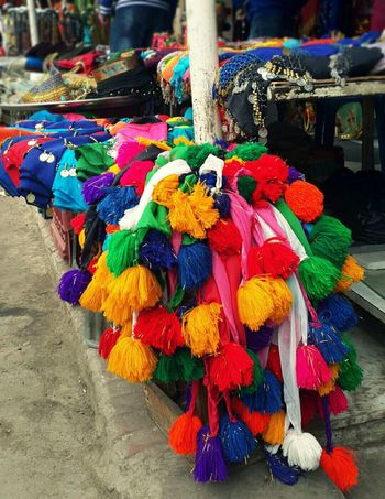 The colors of the egytian market