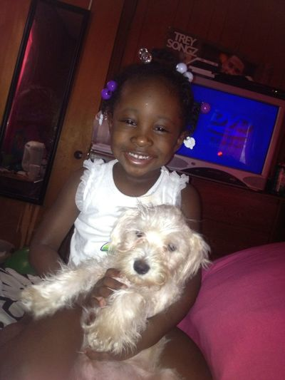 She Love Her Puppy