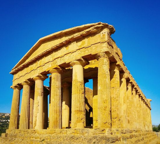 Valley Of The Temples Agrigento Sicily Italy Travel Photography Travel Voyage Traveling Mobile Photography Fine Art Panoramic Views Architecture Classic Greek Temples Golden Light Shadows Mobile Editing Showcase April