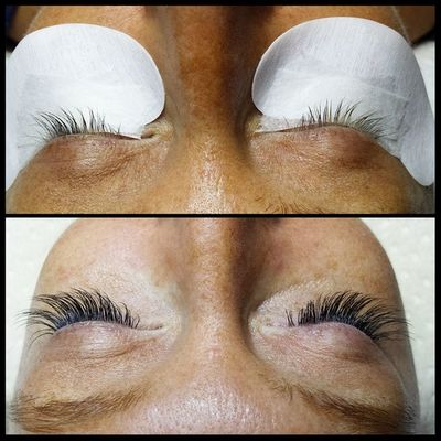 Blonde lashes get a makeover :) Lashextensions Novalash Lashlife Lashesdoneright simplebeauty acaciaspa