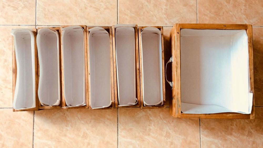 Mold box Woods Wood No People Directly Above Indoors  Still Life High Angle View Pattern Order Large Group Of Objects Tray Close-up