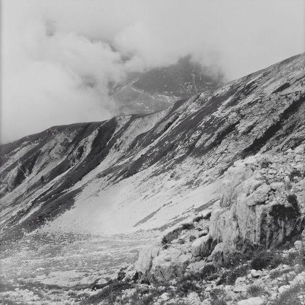 Mountain Black And White Rocks High Attitude  Clouds Taking Photos