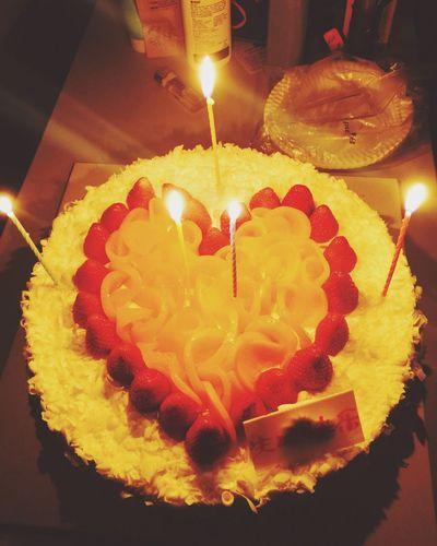 生日快乐。🎂