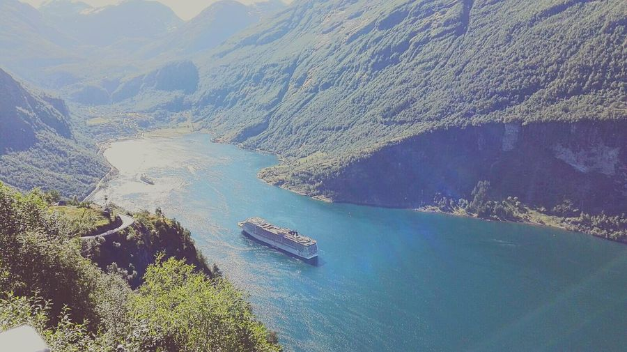 Norway🇳🇴 Msc Splendida Geiranger,Norway Cruise Msc Splendida EyeEmNewHere Flying High