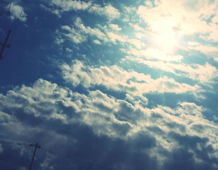 IPhoneography 天使の梯子 Sky Clouds And Sky