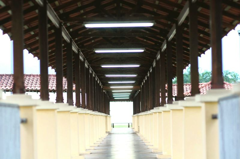 Walkway Architecture Architectural Column Corridor No People Pathway Asia Corridor Asian  Asian Culture Malaysia Scenery Malaysia Photography Malaysianstreet Malaysia City