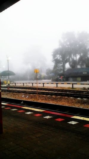 Mist in morning at 07.07 am