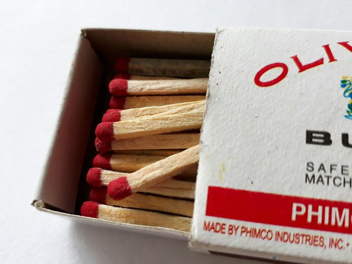 #matches #match #matchbox #fire No People Red Indoors  Close-up Day