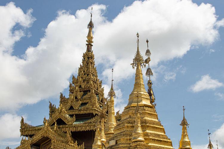 The sule pagoda in rangoon, myanmar