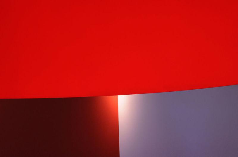 Illuminated red light