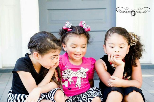 The girls ars talking, the girls are talking. Children Young Innocence Beautiful Girl Talk Childhood Children's Portraits Playing Conversation